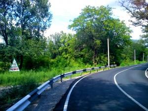 Дорога в Самарский монастырь