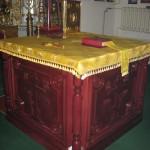 Новый престол алтаря