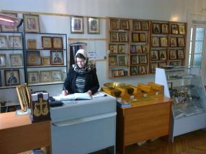 Самарский монастырь. Церковная лавка.