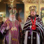 Митрополит Ириней и архимандрит Досифей
