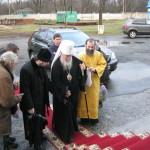 Встреча митрополита Иринея