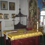 Новые престол и жертвенник алтаря