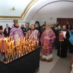 Панихида. Самарский мужской монастырь. 14.03.15.