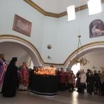 Самарский мужской монастырь. Родительская суббота 14.03.4015 г.