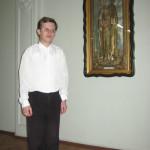 Брат Сергий, послушание пономаря в храме
