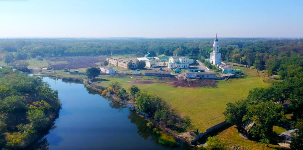 Самарский монастырь, река Самарчук, лес